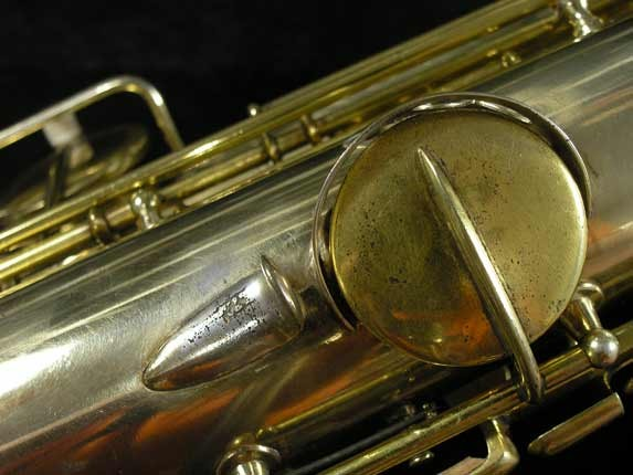"Conn ""Portrait"" Gold Plate ""Nude Woman"" Tenor - 119399 - Photo # 21"
