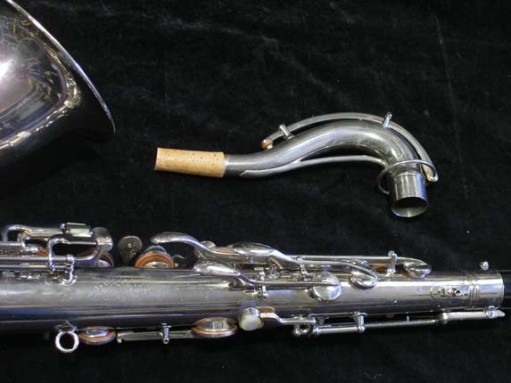 Conn Nickel Plate Transitional Tenor - 247467 - Photo # 6