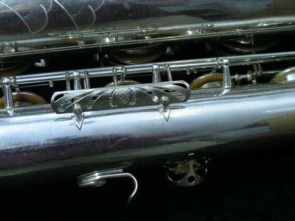 "Selmer Silver Plate Mark VI ""Low A"" Baritone - 138648 - Photo # 25"