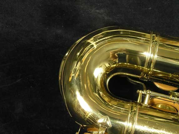 King Lacquer-Sterling Neck Super 20 Tenor - 313306 - Photo # 26