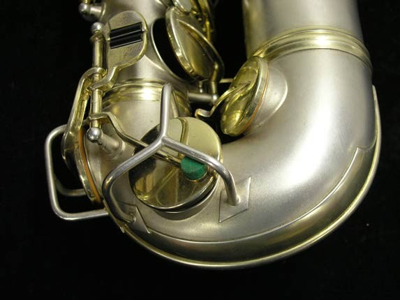 "C.G. Conn Silver w/ Gold Keys ""New Wonder"" Alto - 112642 - Photo # 13"
