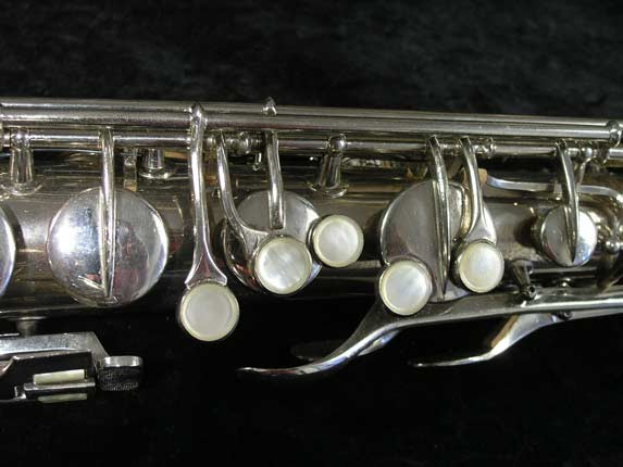 Conn Nickel Plate Transitional Tenor - 247467 - Photo # 7