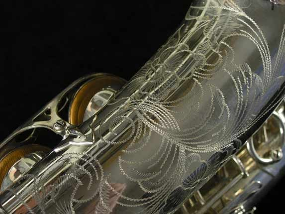 Selmer Silver Plate Mark VI Alto - 76835 - Photo # 16
