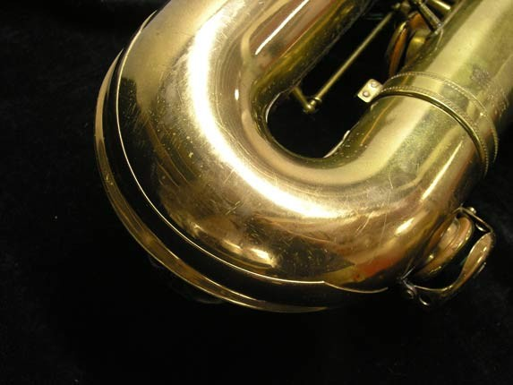 "Selmer Lacquer Mark VI ""Low A"" Baritone - 93188 - Photo # 29"