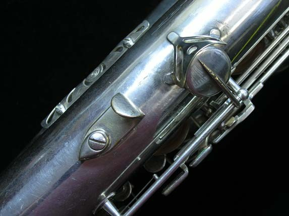 "Selmer Silver Plate Mark VI ""Low A"" Baritone - 138648 - Photo # 26"