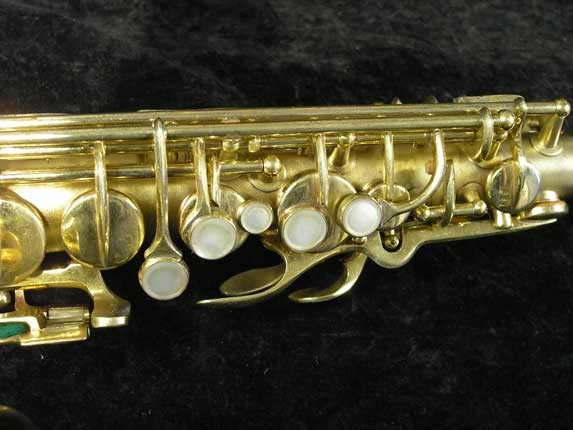 Conn Gold Plate Art Deco Transitional Alto - 245512 - Photo # 7
