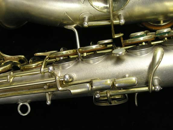 "C.G. Conn Silver w/ Gold Keys ""New Wonder"" Alto - 112642 - Photo # 14"