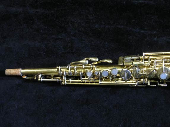 "Conn ""New Wonder"" Gold Plate Soprano - 139580 - Photo # 2"