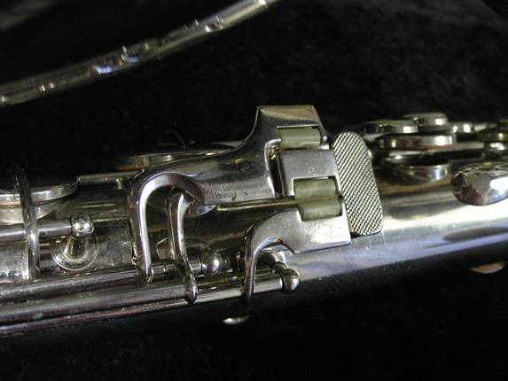 Conn Nickel Plate Transitional Tenor - 247467 - Photo # 8