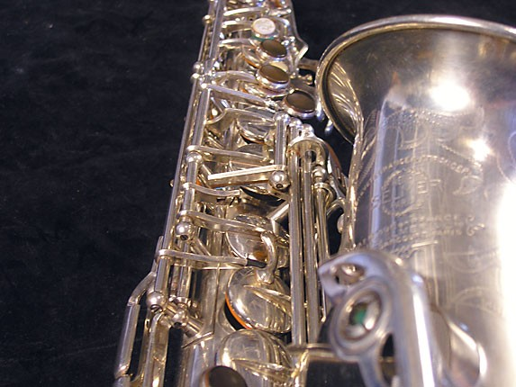 Selmer Silver Plate Balanced Action Alto - 32611 - Photo # 10