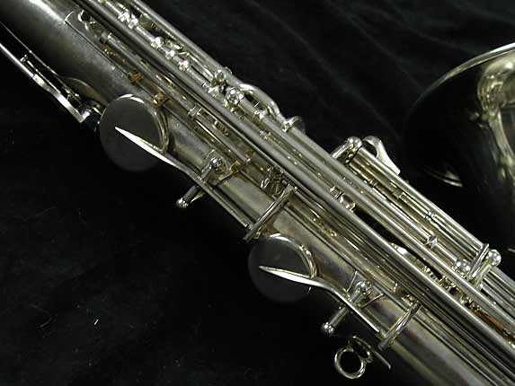 Selmer Nickel Plate Mark VII Tenor - 313016 - Photo # 10