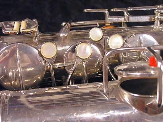Conn Nickel Plate Chu Berry Tenor - 227703 - Photo # 11