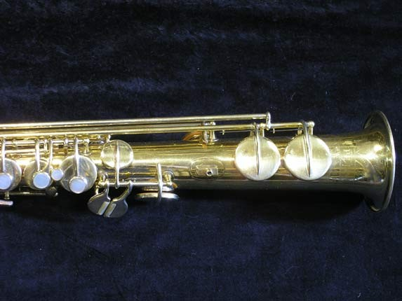 "Conn ""New Wonder"" Gold Plate Soprano - 139580 - Photo # 3"