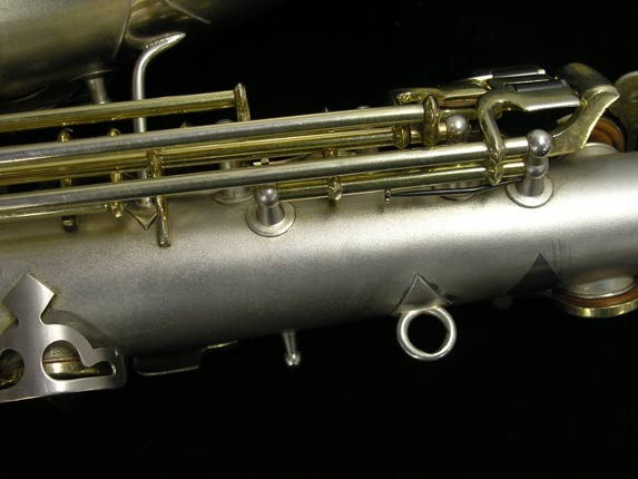 "C.G. Conn Silver w/ Gold Keys ""New Wonder"" Alto - 112642 - Photo # 16"