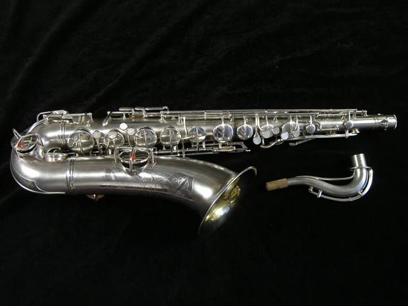 Conn Silver Plate Chu Berry Tenor - 156032 - Photo # 1