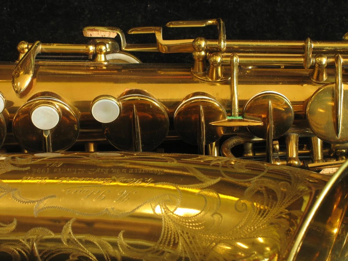 ステンシル・セルマー「ゴールド・メダル」