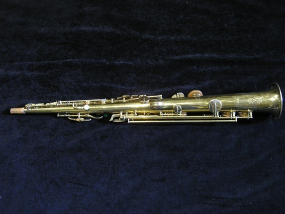 "Conn ""New Wonder"" Gold Plate Soprano - 139580 - Photo # 4"
