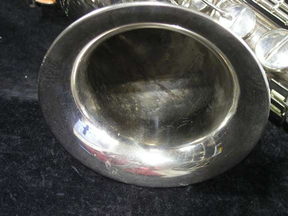 Conn Nickel Plate Transitional Tenor - 247467 - Photo # 10