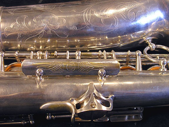 Selmer Silver Plate Balanced Action Alto - 32611 - Photo # 12