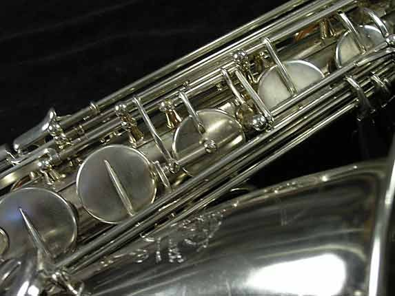 Selmer Nickel Plate Mark VII Tenor - 313016 - Photo # 12