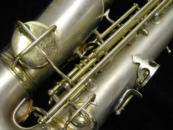 "C.G. Conn Silver w/ Gold Keys ""New Wonder"" Alto - 112642 - Photo # 17"