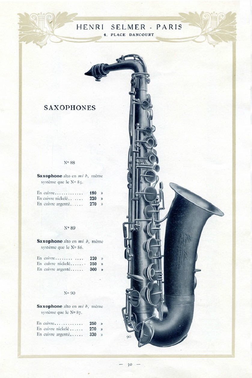 Where Are The First 750 Selmer Paris Saxophones Saxophoneorg