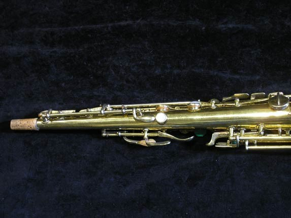 "Conn ""New Wonder"" Gold Plate Soprano - 139580 - Photo # 5"