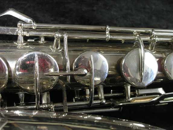 Conn Nickel Plate Transitional Tenor - 247467 - Photo # 11