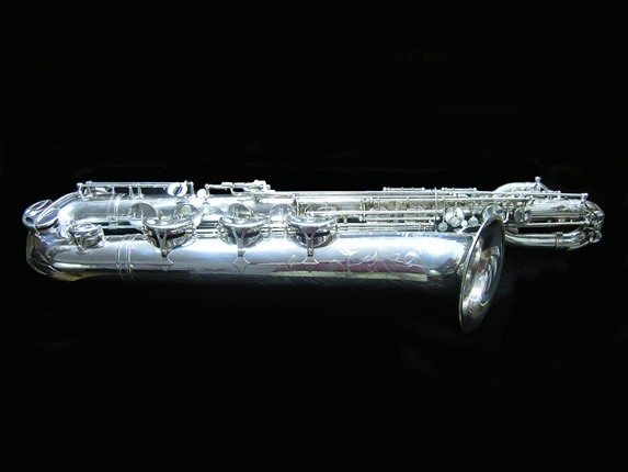 "Selmer Silver Plate Mark VI ""Low A"" Baritone - 177100 - Photo # 1"