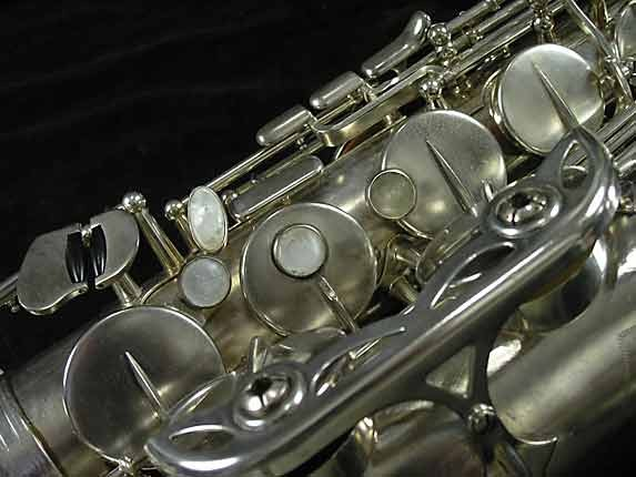 Selmer Nickel Plate Mark VII Tenor - 313016 - Photo # 13