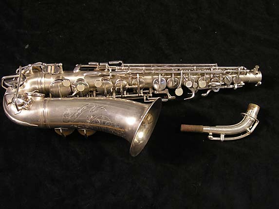 Holton Silver Plate Rudy Weidoff Alto - 36643 - Photo # 1