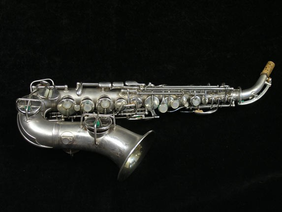 Conn Silver Plate Chu Berry Curved Soprano - 206855 - Photo # 1