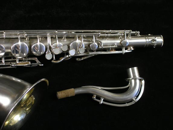 Conn Silver Plate Chu Berry Tenor - 156032 - Photo # 3