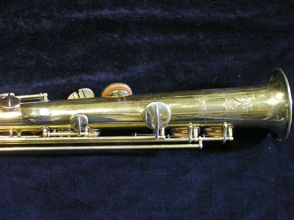 "Conn ""New Wonder"" Gold Plate Soprano - 139580 - Photo # 6"