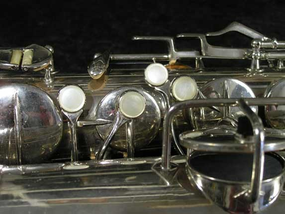 Conn Nickel Plate Transitional Tenor - 247467 - Photo # 12