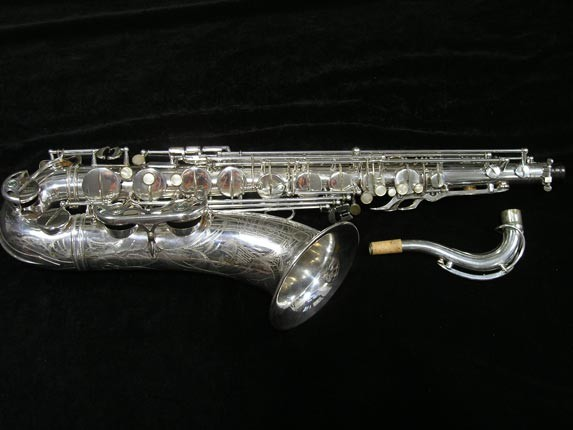 Selmer Silver Super Balanced Action Tenor - 50980 - Photo # 1