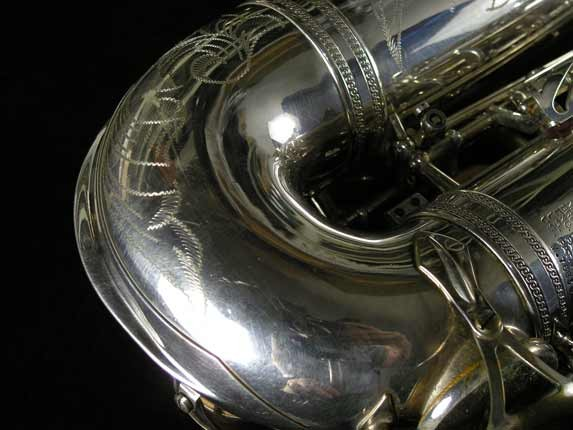 Selmer Silver Plate Mark VI Alto - 76835 - Photo # 21