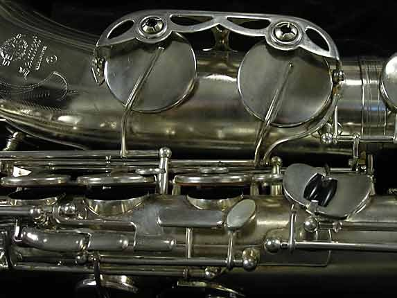 Selmer Nickel Plate Mark VII Tenor - 313016 - Photo # 14