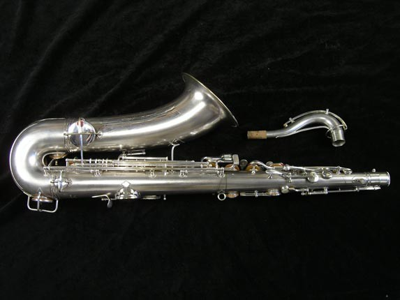 Conn Silver Plate Chu Berry Tenor - 156032 - Photo # 4