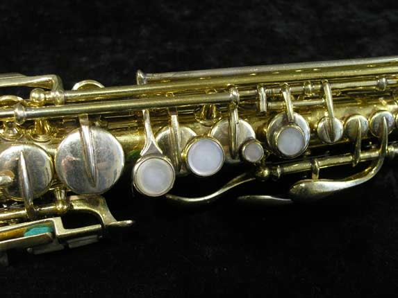 "Conn ""New Wonder"" Gold Plate Soprano - 139580 - Photo # 7"