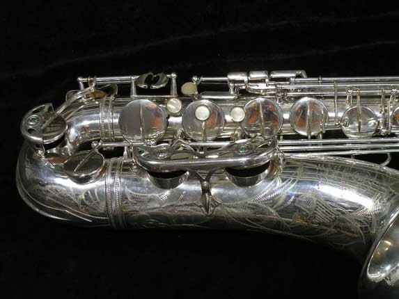 Selmer Silver Super Balanced Action Tenor - 50980 - Photo # 2