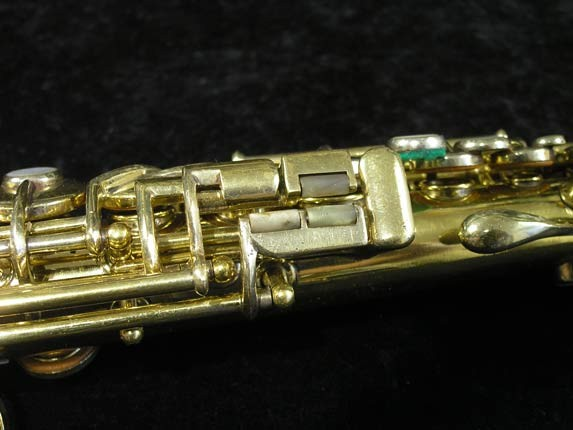 "Conn ""New Wonder"" Gold Plate Soprano - 139580 - Photo # 8"