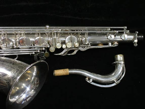 Selmer Silver Super Balanced Action Tenor - 50980 - Photo # 3