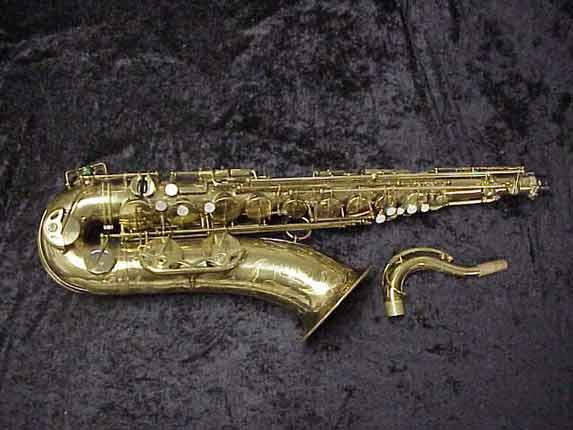 elmer Lacquer Super Balanced Action Tenor - 52084 - Photo # 1