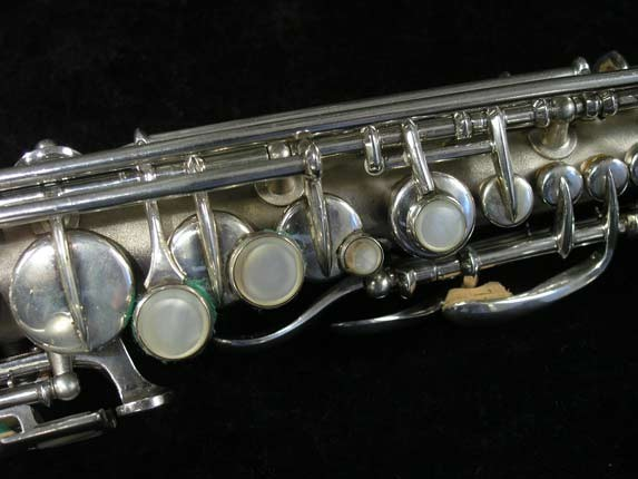 Conn Silver Plate Chu Berry Curved Soprano - 206855 - Photo # 4