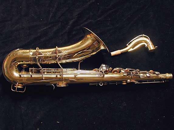 Conn Lacquer w/ Nickel Keys 10M Tenor - 665227 - Photo # 4