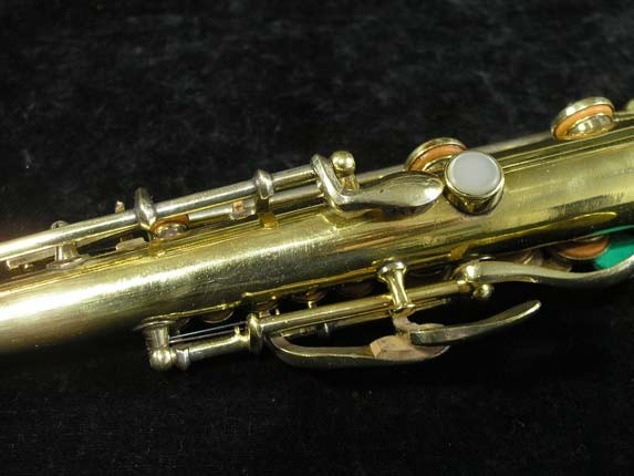"Conn ""New Wonder"" Gold Plate Soprano - 139580 - Photo # 9"