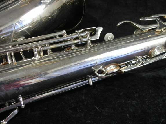 Conn Nickel Plate Transitional Tenor - 247467 - Photo # 15
