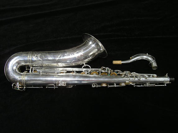 Selmer Silver Super Balanced Action Tenor - 50980 - Photo # 4
