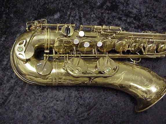 elmer Lacquer Super Balanced Action Tenor - 52084 - Photo # 2